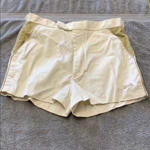 Vintage Le Tigre corduroy shorts 34